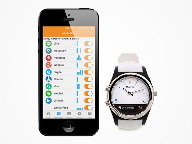 Martial Notifier Smart Watch