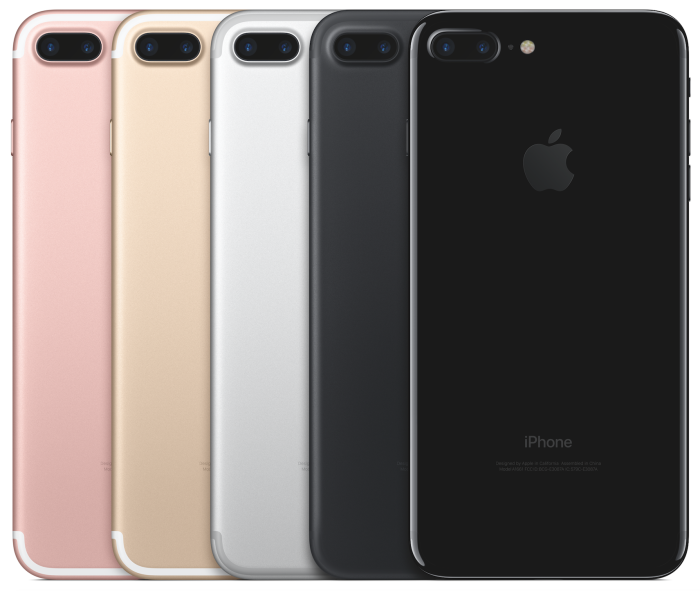 iPhone 7 Plus-lineup